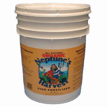 Neptune's Harvest Fish Fertilizer - Orange Label - 5 Gallon