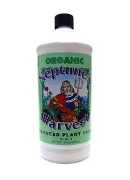 Neptune's Harvest Seaweed Fertilizer - Green Label - 32 oz