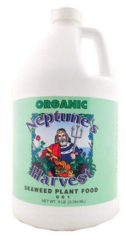 Neptune's Harvest Seaweed Fertilizer - Green Label - 128 oz