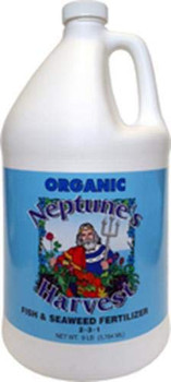Neptune's Harvest Fish and Seaweed Fertilizer Blend - Blue Label - 9 Lb