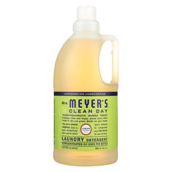 Mrs. Meyer's Clean Day - 2X Laundry Detergent - Lemon Verbana - 64 oz