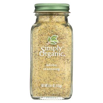 Simply Organic Adobo Seasoning - Case of 6 - 4.41 oz.