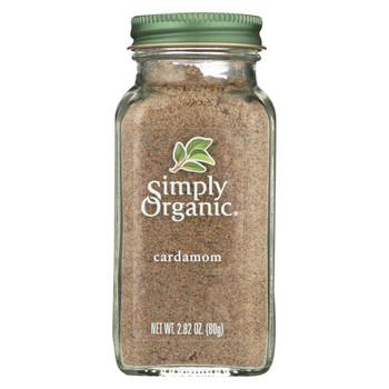 Simply Organic Cardamom - Case of 6 - 2.82 oz.