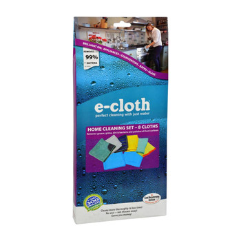 E-Cloth Home Cleaning Set - 8 Piece Set
