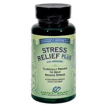 Earth's Bounty Stress Relief Plus - 60 Vcaps