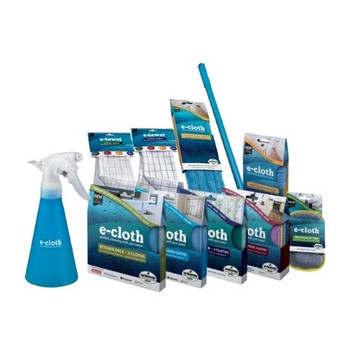 E-Cloth Display - Cleaning Prepack - Case of 105
