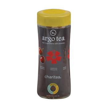 Argo Tea Bottled Charites Tea - Hibiscus - Case of 12 - 13.5 fl oz