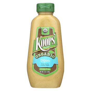 Koop's Organic Dijon - Case of 12 - 12 oz.