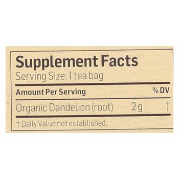 Alvita Teas Organic Herbal Dandelion Tea - 24 Tea Bags