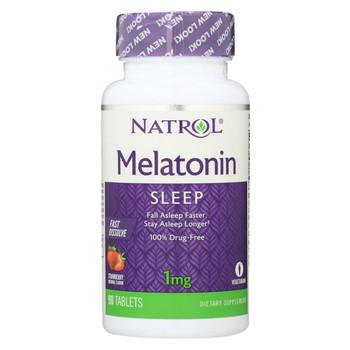 Natrol Fast Dissolving Melatonin - 1 mg - 90 tabs