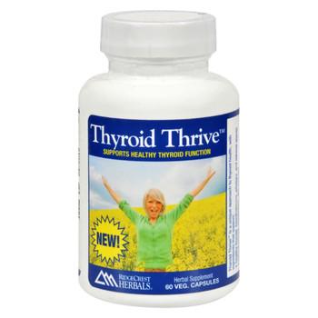RidgeCrest Herbals Thyroid Thrive - Herbal - 60 vcaps