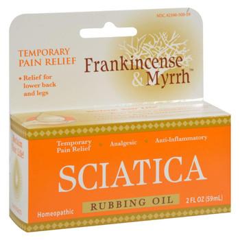 Frankincense and Myrrh Sciatic Rubbing Oil - 2 fl oz
