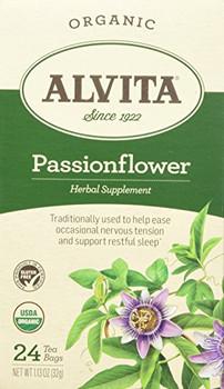 Alvita Tea Organic Herbal Passionflower Tea - 24 Bags