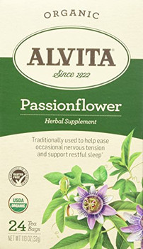 Alvita Tea Organic Herbal Passionflower Tea - 24 Bags
