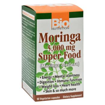 Bio Nutrition - Moringa - 5000 mg - 90 Ct