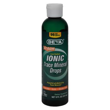 Deva Vegan Ionic Trace Mineral Drops - 8 fl oz