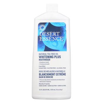 Desert Essence - Mouthwash - Tea Tree Whitening Mint - 16 fl oz