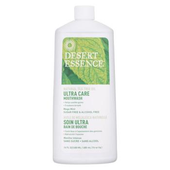 Desert Essence - Mouthwash - Tea Tree U/Care Mint - 16 fl oz