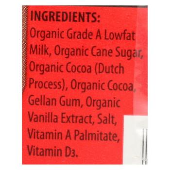 Horizon Organic Dairy Milk - Organic - 1 Percent - Lowfat - Box - Chocolate - 6/8 oz - case of 3