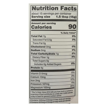 Navitas Naturals Hemp Seeds - Organic - Shelled - 8 oz - case of 12