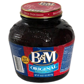 Bandm B&M Baked Beans - Case of 12 - 18 fl oz