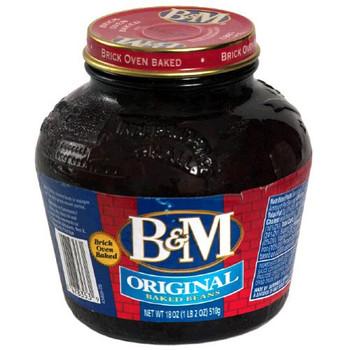 Bandm B&M Baked Beans - Case of 12 - 18 fl oz