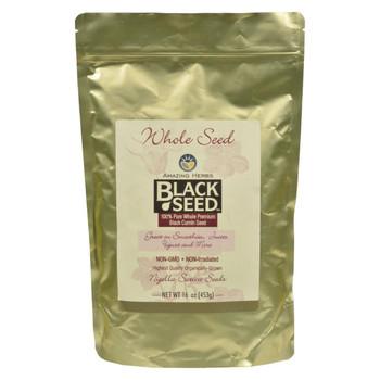 Amazing Herbs - Black Seed Whole Seed - 16 oz