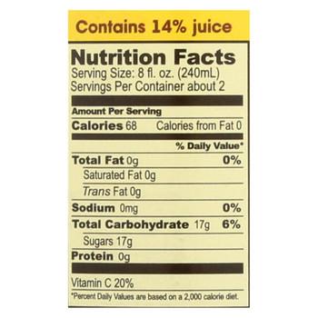 Big Island Organics Hawaiian Gingerade - Case of 12 - 16 oz.