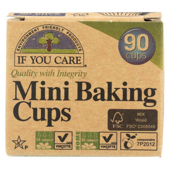 If You Care Baking Cups - Mini Cup - Case of 24 - 90 Count