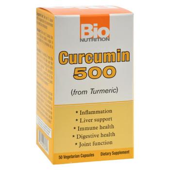 Bio Nutrition Curcumin 500 - 50 Vegetarian Capsules