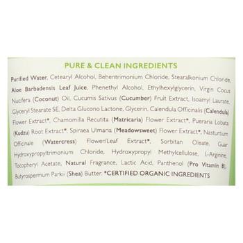 Babo Botanicals Swim and Sport Detangling Conditioner - Cucumber Aloe Vera - 6 oz
