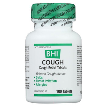 BHI - Cough Relief - 100 Tablets