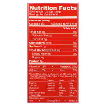 Pomi Tomatoes Chopped Tomatoes - Finely - Case of 12 - 26.46 oz.