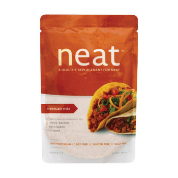 Neat Meat Alternative Mix - Mexican - Case of 6 - 5.5 oz