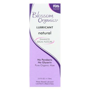 Blossom Organics - Lubricant - Natural Moisturizing - 2.5 fl oz