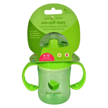 Green Sprouts Sippy Cup - Non Spill Green - 1 ct