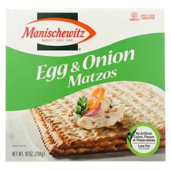 Manischewitz - Egg and Onion Matzo - 10 oz.