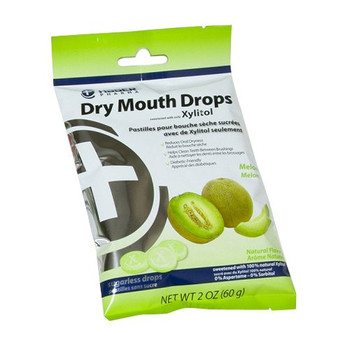 Hager Pharma Dry Mouth Drops - Melon - 2 oz