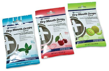 Hager Pharma Dry Mouth Drops - Assorted - Case of 12 - 2 oz