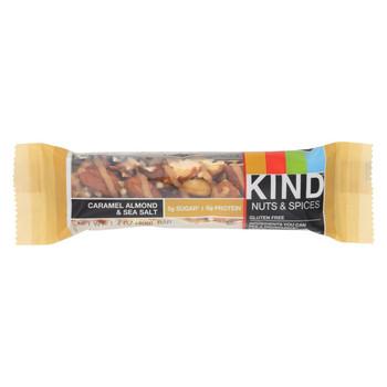 Kind Bar - Caramel Almond and Sea Salt - 1.4 oz Bars - Case of 12