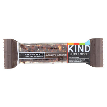 Kind Bar - Dark Chocolate Mocha Almond - 1.4 oz Bars - Case of 12