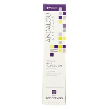 Andalou Naturals Facial Serum - DIY Booster SPF 30 - 2 oz