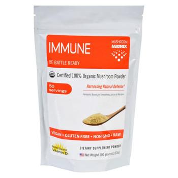 Mushroom Matrix Immune Matrix - Organic - Powder - 3.57 oz