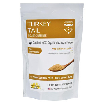 Mushroom Matrix Turkey Tail - Organic - Powder - 3.57 oz