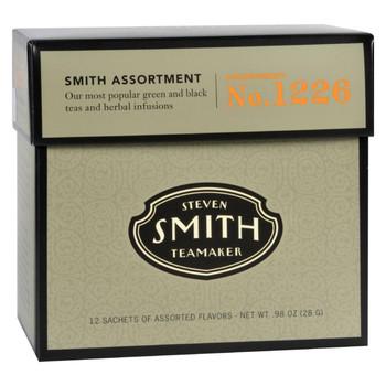 Smith Teamaker Tea - Assortment - Case of 6 - 12 Bags