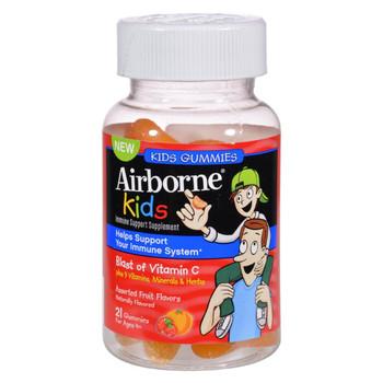 Airborne - Vitamin C Gummies for Kids - Fruit - 21 Count