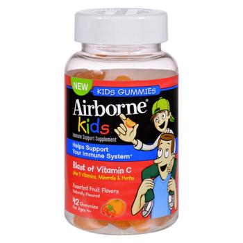 Airborne - Vitamin C Gummies for Kids - Fruit - 42 Count