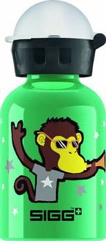 Sigg Water Bottle - Go Team - Monkey Elephant - 0.3 Liters