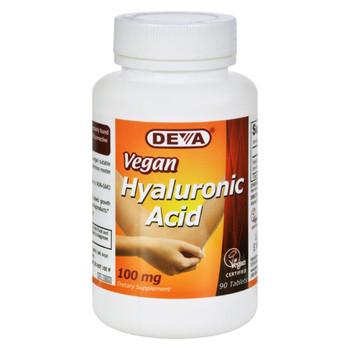 Devan Vegan Vitamins Hyaluronic Acid - 100 mg - Vegan - 90 Tablets