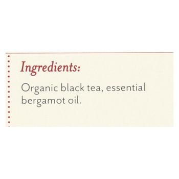 Rishi Organic Tea - Earl Grey - Case of 6 - 15 Bags